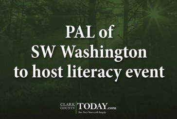PAL of SW Washington to host literacy event