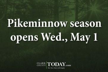 Pikeminnow season opens Wed., May 1