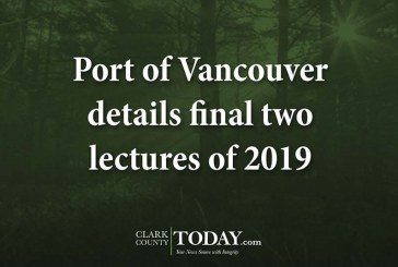Port of Vancouver details final two lectures of 2019