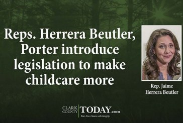 Reps. Herrera Beutler, Porter introduce legislation to make childcare more affordable