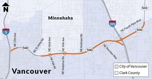 Map courtesy www.wsdot.wa.gov