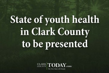 State of youth health in Clark County to be presented