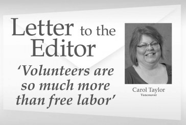 Letter to the editor: 'Volunteers are so much more than free labor'