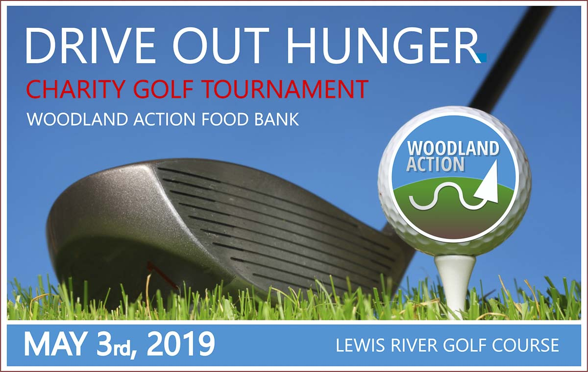The Woodland Action Center, a 501c3 non-profit charity providing supplemental food and social services, announced the details for it's 2nd Annual Charity Golf Tournament to be held on Fri., May 3 at the Lewis River Golf Course.