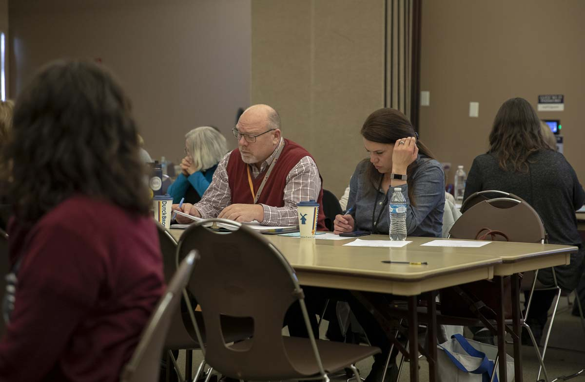 Prevent Coalition members partnered with educators, parents, other area coalitions, law enforcement, and community members to understand data about high schooler substance abuse and mental illness. Photo by Jacob Granneman