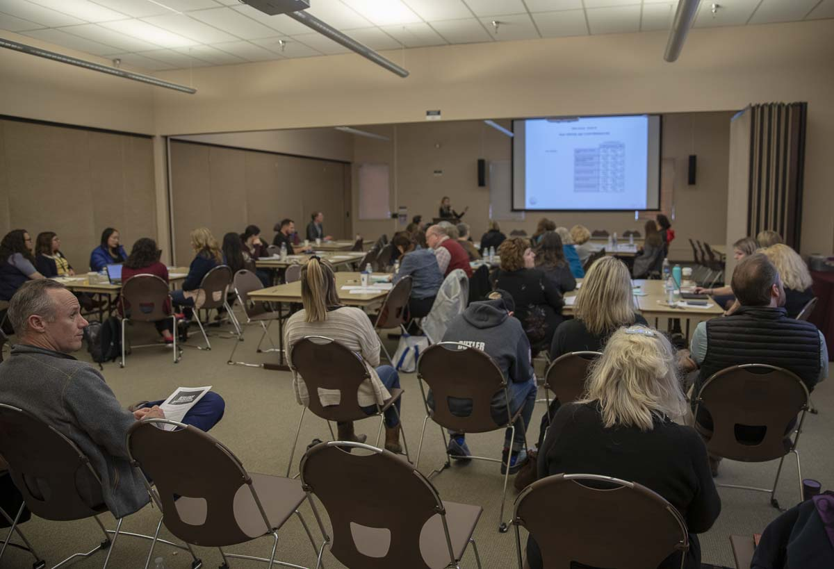 """""""10th Graders Talk"""" was hosted by Prevent Coalition and Clark County Public Health at the ESD Conference Center in Vancouver on April 11. Photo by Jacob Granneman"""