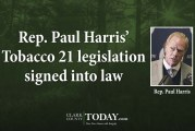 Rep. Paul Harris' Tobacco 21 legislation signed into law