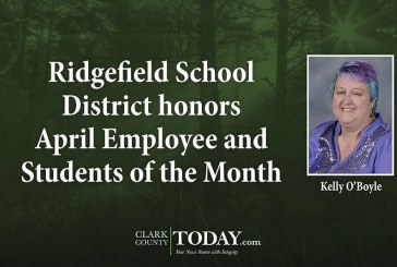 Ridgefield School District honors April Employee and Students of the Month