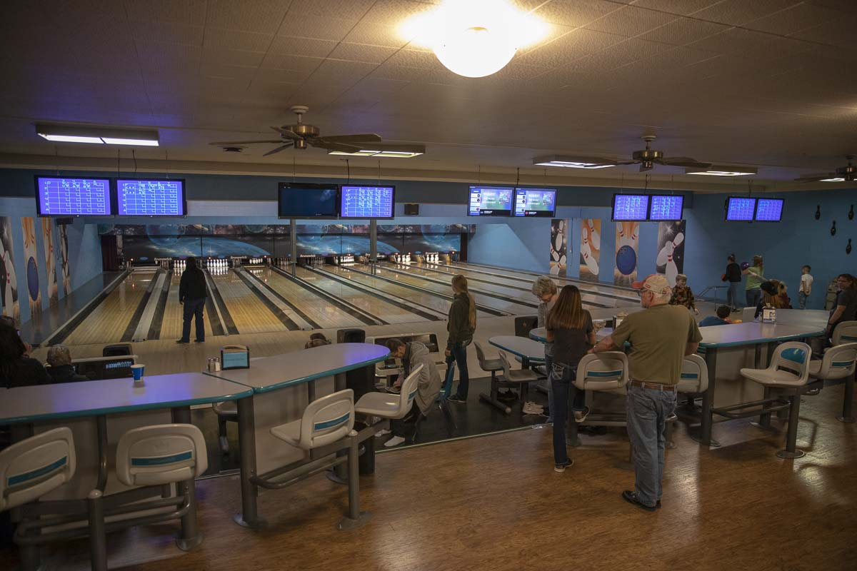 Tiger Bowl in Battle Ground hosts 10 bowling lanes, and has hopes to expand the building to include more lanes and a larger game room. Photo by Jacob Granneman