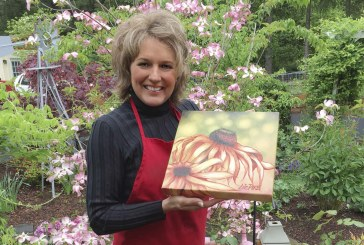 Area residents can view original works of art by Liz Pike at two shows in May