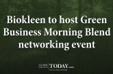 Biokleen to host Green Business Morning Blend networking event