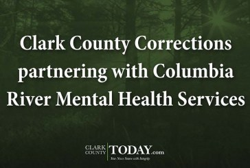 Clark County Corrections partnering with Columbia River Mental Health Services