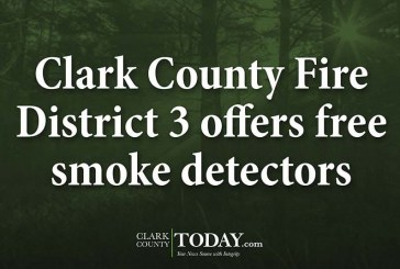 Clark County Fire District 3 offers free smoke detectors