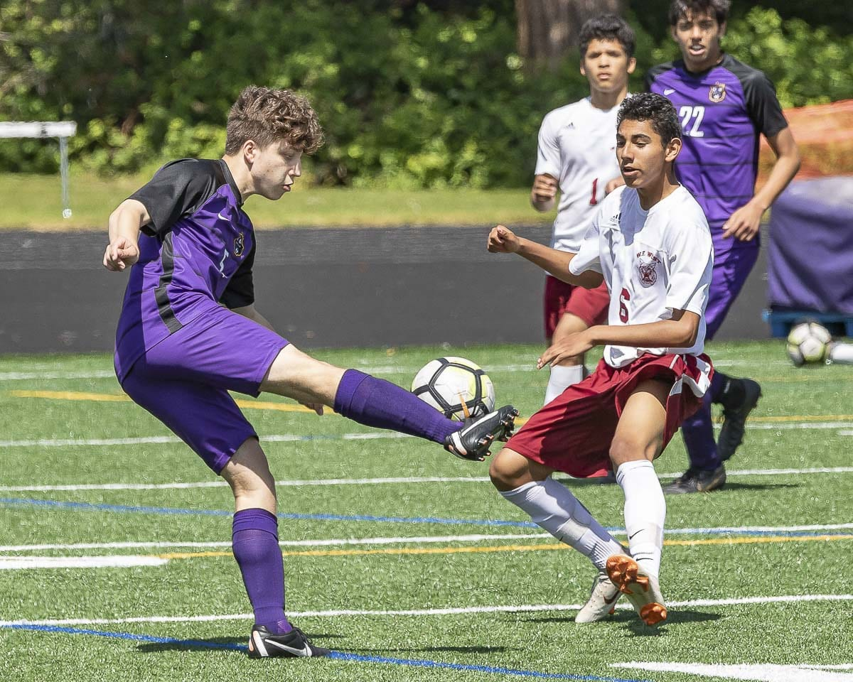 Maskim Yurichko is another talent who has helped Columbia River to a 16-0-1 record this season. The Chieftains are hoping to win the state title for the second year in a row. Photo by Mike Schultz