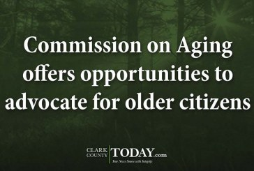 Commission on Aging offers opportunities to advocate for older citizens