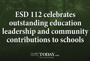 ESD 112 celebrates outstanding education leadership and community contributions to schools
