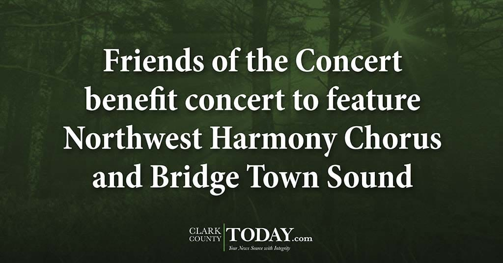 Friends Of The Concert Benefit Concert To Feature