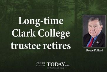 Long-time Clark College trustee retires