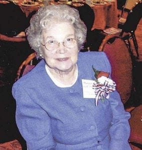 Margaret Colf Hepola devoted many hours to helping the North Clark Historical Museum grow and to compiling histories of the area. Photo courtesy of North Clark Historical Museum