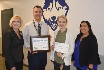 Jemtegaard Middle School celebrates Whole Child Award at assembly