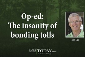 Op-ed: The insanity of bonding tolls