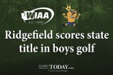 Ridgefield scores state title in boys golf