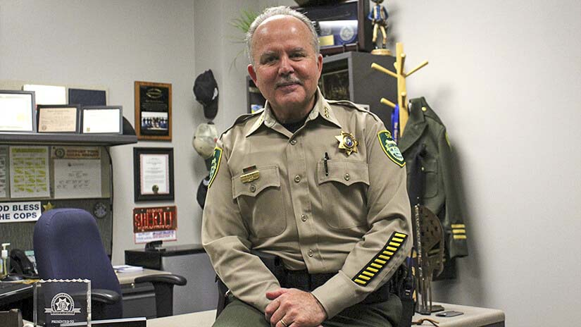"""The Clark County Sheriff's Office has immediate openings for a number of positions in Corrections, Enforcement and Sheriff's Support roles. """"We hire people of character, provide the tools and teach the skills,'' said Clark County Sheriff Chuck Atkins. Photo courtesy of Clark County Sheriff's Department"""