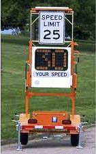 The city of Vancouver has teamed up with volunteers to help get portable speed signs out into neighborhoods where they can slow speeders, but more volunteers are needed. Photo courtesy of city of Vancouver