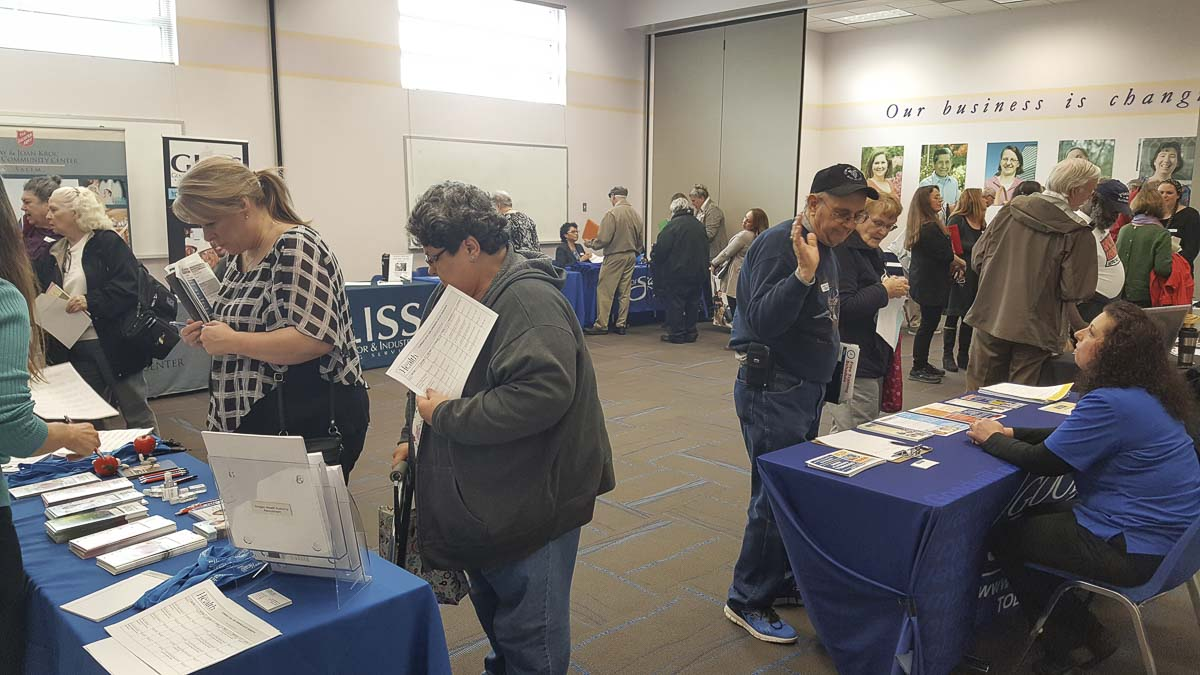 Clark County hiring managers who are looking to hire job seekers in the 50-and-older age group will be on hand at a Job Fair hosted by Goodwill Industries next week. Photo courtesy of Goodwill Industries of the Columbia Willamette