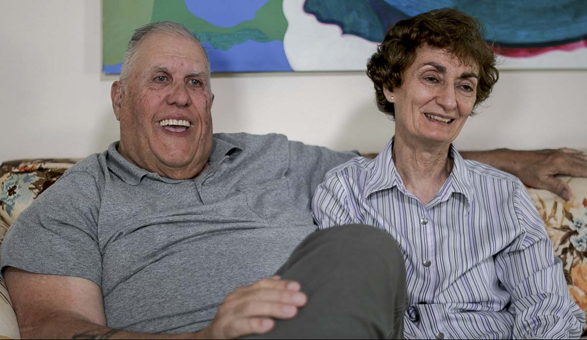 Ron and Rosemary Fryer, Founders of America for Veterans Foundation. Photo by Jacob Granneman