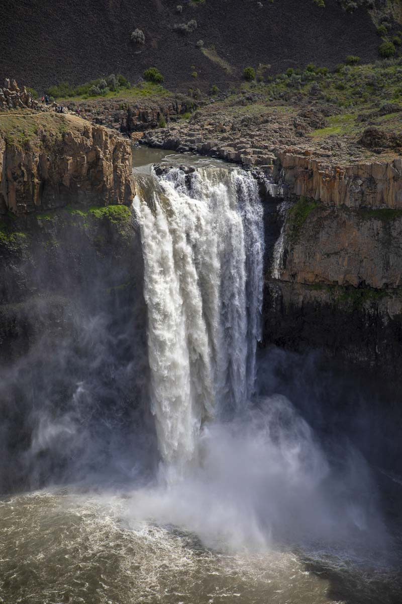 Carved by the famed Missoula Flood almost 13,000 years ago, Palouse Falls is one of the few waterfalls created by the flood to still be flowing. Photo by Jacob Granneman