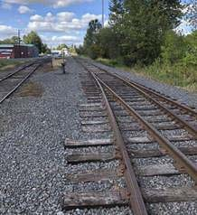 Governor Jay Inslee approved Tuesday the 2019-21 transportation budget that includes $1.5 million for improvements to the Chelatchie Prairie Railroad. The investment from the Washington State Legislature will fund roadbed rehabilitation of the Clark County-owned railroad to replace deteriorated crossties, ballast, and undercutting, in addition to surfacing between milepost 0.0 to 14.12. Photo courtesy of Portland Vancouver Junction Railroad