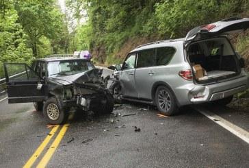 Serious injury, three vehicle crash in Washougal