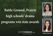 Battle Ground, Prairie high schools' drama programs win state awards