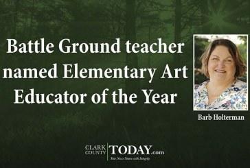 Battle Ground teacher named Elementary Art Educator of the Year