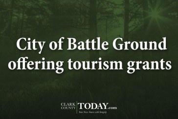 City of Battle Ground offering tourism grants