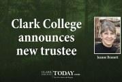 Clark College announces new trustee
