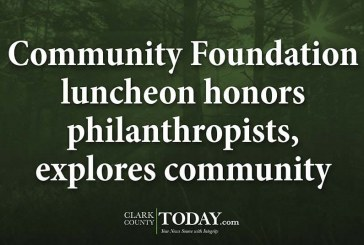 Community Foundation luncheon honors philanthropists, explores community