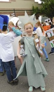Union Ridge Elementary School puts on annual Culture Parade