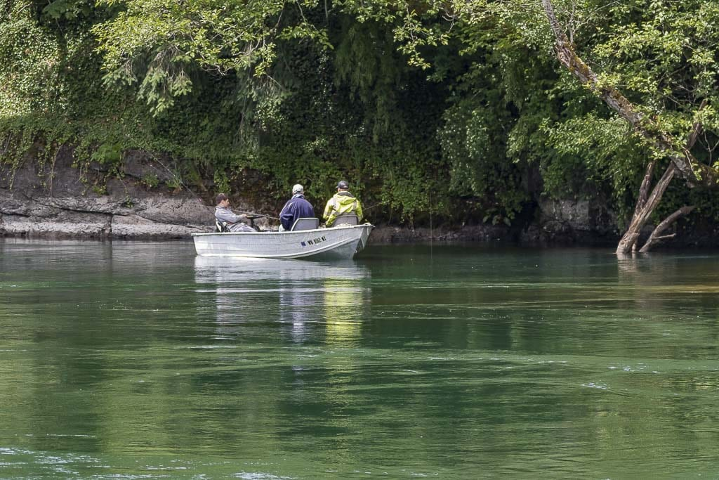 In March, the Washington Fish and Wildlife Commission directed the Washington Department of Fish and Wildlife to make the use of barbless hooks voluntary for salmon and steelhead fisheries in the Columbia River and its tributaries. Photo by Mike Schultz