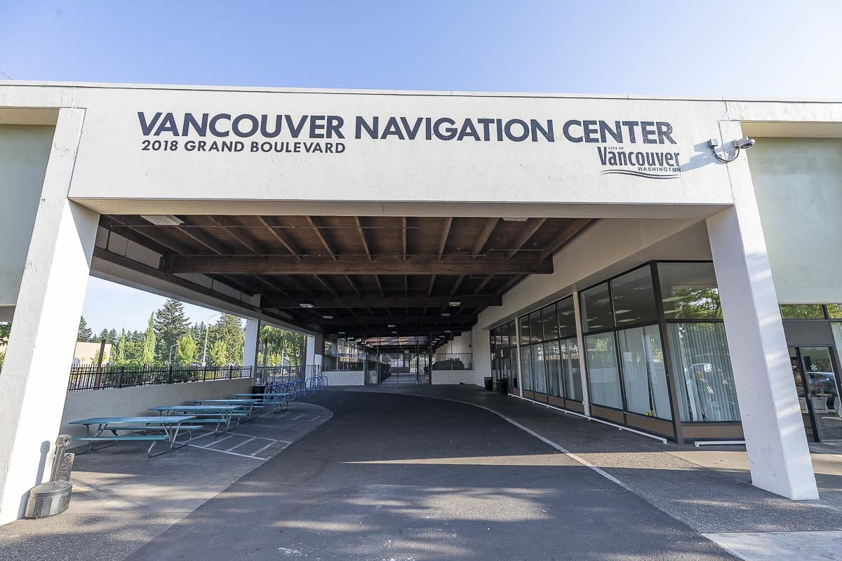 Vancouver's new Homeless Navigation Center has drawn complaints from neighbors and praise from area homeless. Photo by Mike Schultz