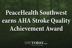 PeaceHealth Southwest earns AHA Stroke Quality Achievement Award