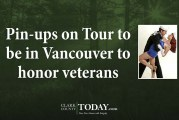 Pin-ups on Tour to be in Vancouver to honor veterans