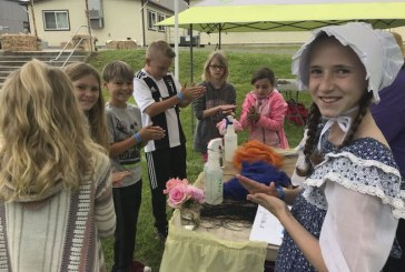 Pioneer Day at South Ridge Elementary School takes students back in time