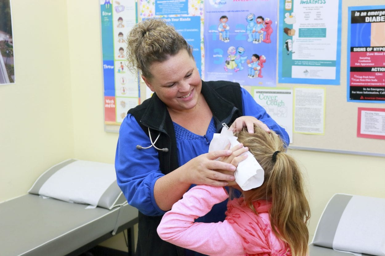 School nurse corps celebrates 20 years in Washington