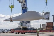 Largest-ever shipment of wind turbine blades arrives at the Port of Vancouver