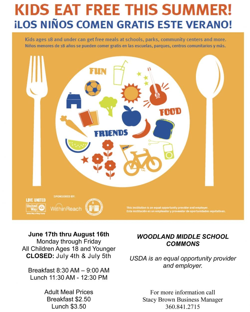 Community support and local grants help Woodland Public Schools offer free summer meals and backpacks