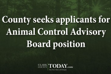 County seeks applicants for Animal Control Advisory Board position