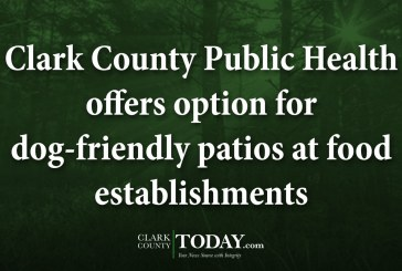 Clark County Public Health offers option for dog-friendly patios at food establishments
