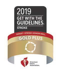 PeaceHealth Southwest Medical Center's Stroke & Telestroke Program has earned the American Heart Association's (AHA) 2019 Get With The Guidelines® – Stroke Gold Plus Quality Achievement Award and also qualified for recognition on the Target: Stroke Elite Honor Roll.